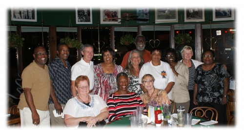 We had a great one year Anniversary dinner meeting at Patrick's on June 17, 2010!